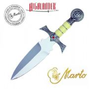 The Official Marto Highlander Silver Claymore Dagger